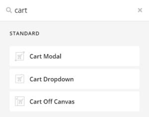 Themeco Pro Theme Cart Element